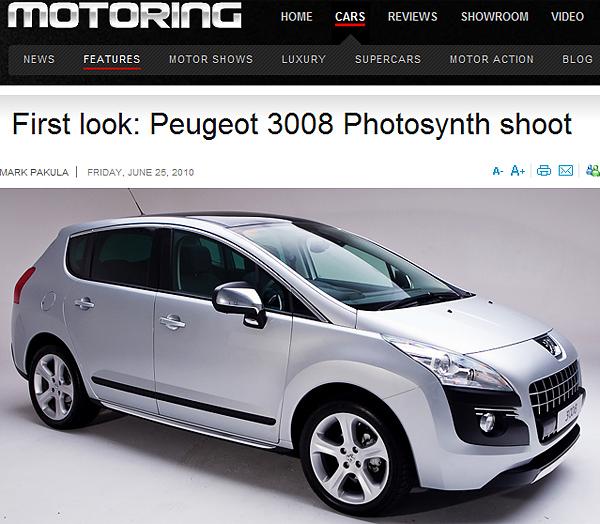 Peugeot 3008 Studio