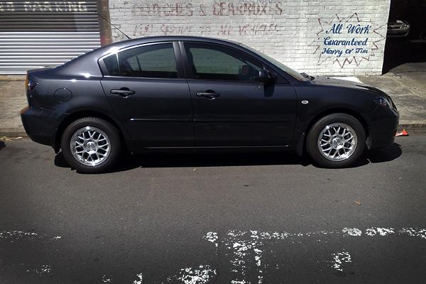 Mazda 3 on 15s