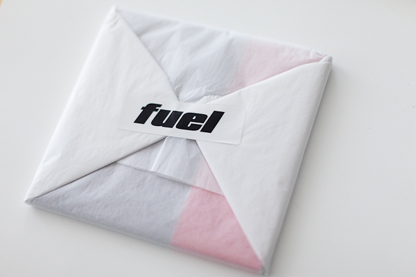 FUEL Magazine wrapping