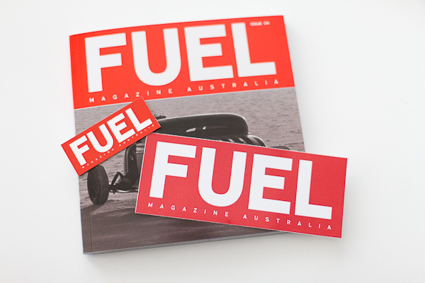 FUEL Magazine stickers