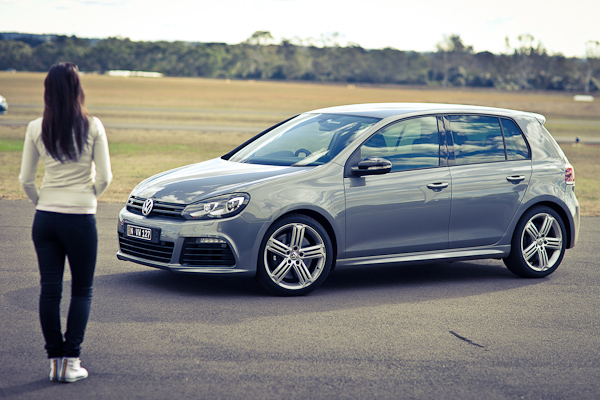 VW Golf R Annette Melton