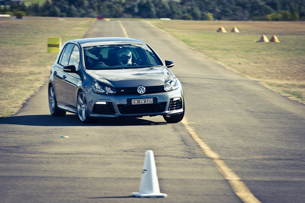 VW Golf R track
