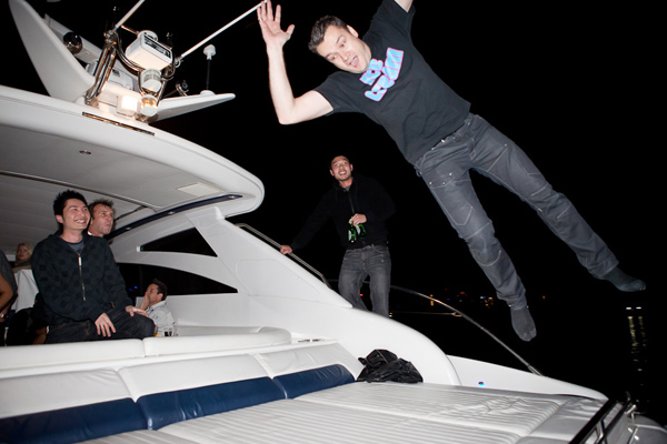 Jumping on Boat j.o.b.