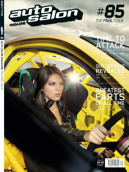 Magazine Cover Issue 85 Auto Salon