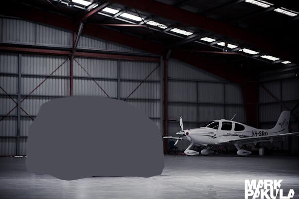 car hangar