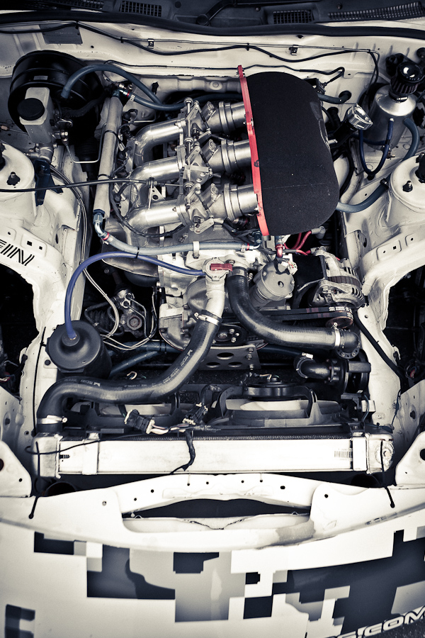 Mad Mike RX-7 Engine
