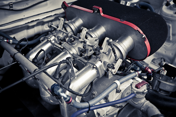 Mad Mike RX-7 Engine close