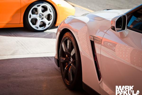 Lamborghini Gallardo Nissan GT-R