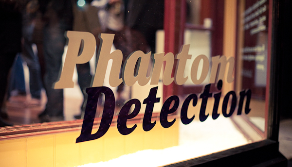 Phantom detection gallery exhibit