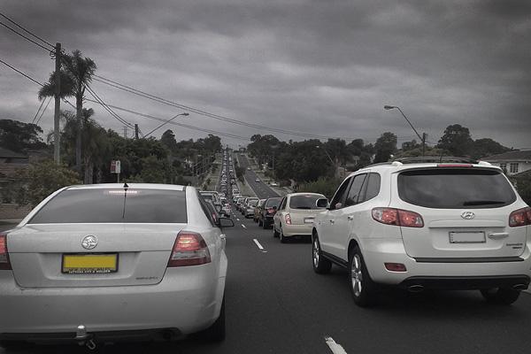 xmas traffic